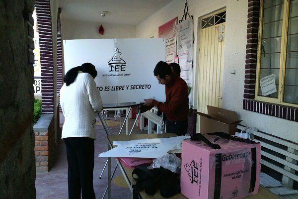 Poca afluencia de votantes en Ixcaquixtla