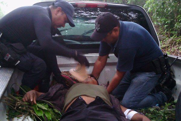 Siete lesionados deja choque en la federal México-Tuxpan