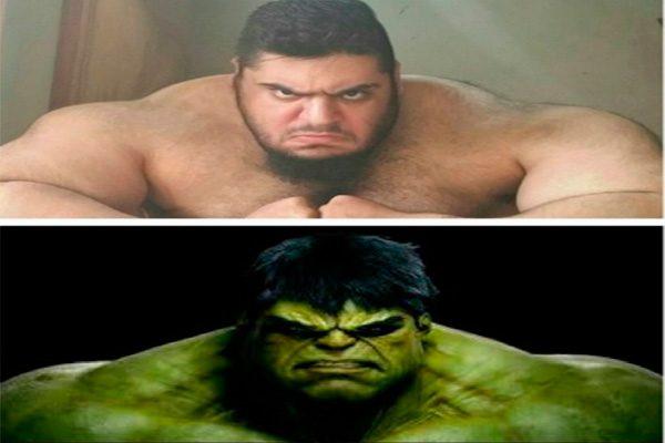 Hulk sí existe y vive en Irán