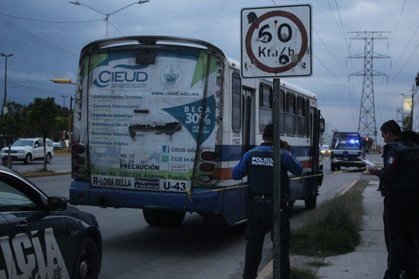 Revisarán historial de los choferes del transporte público, advierte Banck