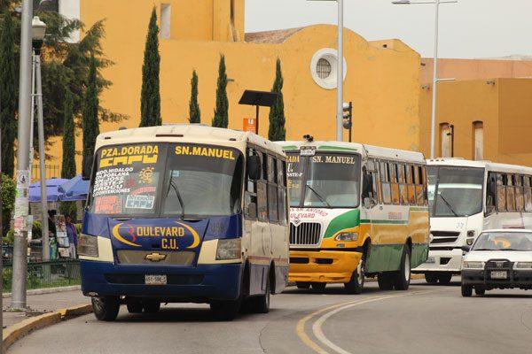Afectadas 21 rutas por línea 3 de metrobús, cuatro desaparecerán