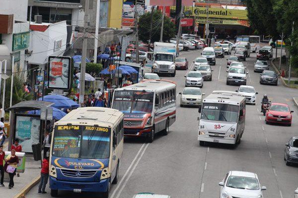 Conductores podrían ser responsables de robo en transporte: Almeida