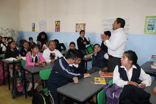 Reanudan actividades este lunes el 97 por ciento de las escuelas poblanas