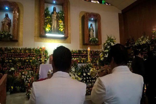 Festejan en su día a San Judas Tadeo