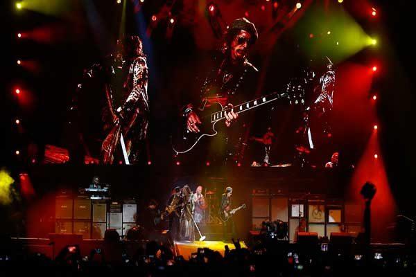 Aerosmith hizo vibrar la Arena Ciudad de México