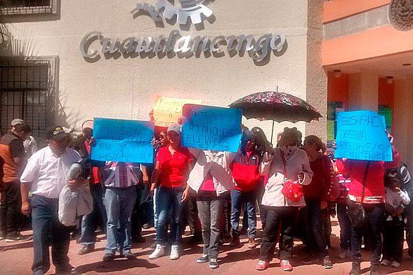 Protestan en Misiones de San Francisco por falta de agua