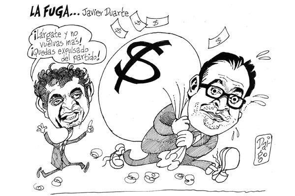 La fuga de Javier Duarte
