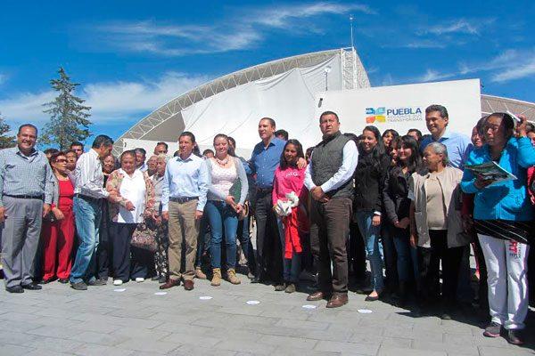 Entrega Moreno Valle Centro Comunitario en Chalchicomula
