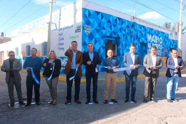 Inauguran en Amozoc casa de gestión del diputado local Mario Rincón