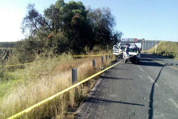 Muere atropellado en la carretera del Aeropuerto Hermanos Serdán