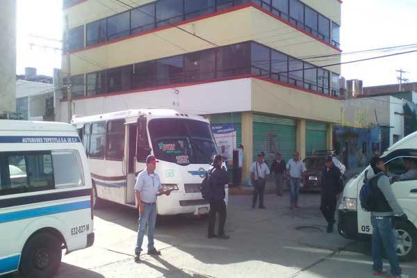 Mala planeación de Comuna provoca caos vial en Texmelucan