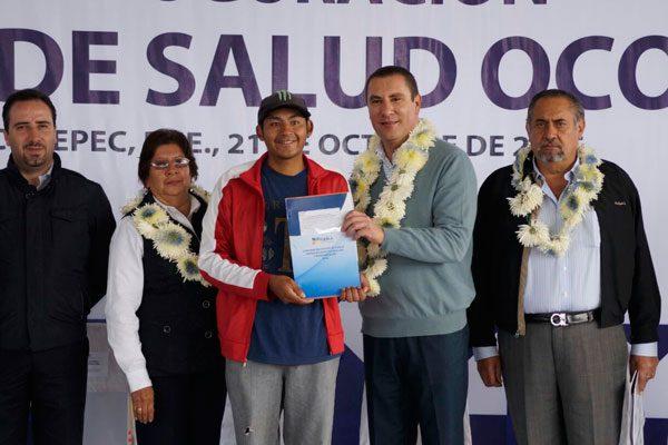 Pone RMV en marcha centro de salud en municipio de Ocotepec