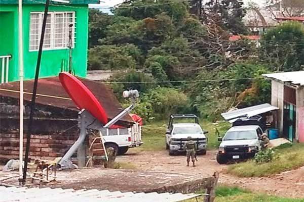 Confirman cuatro sujetos asegurados en operativo en Huauchinango