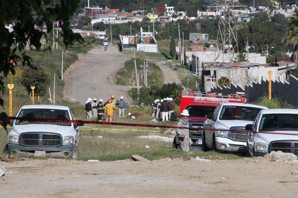 Acusan vecinos de Xicotzoni tardía respuesta ante fuga en gasoducto
