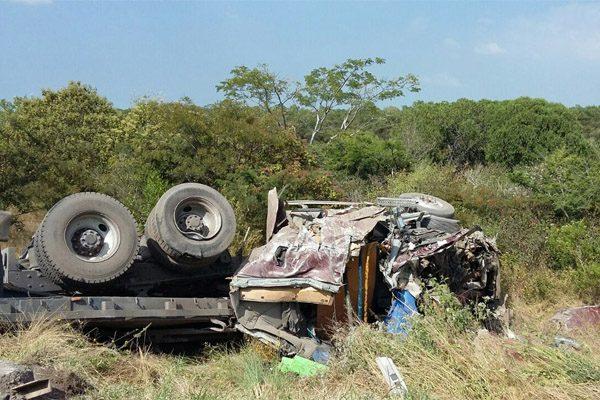Muere hombre prensado en la autopista Siglo XXI en Atlixco