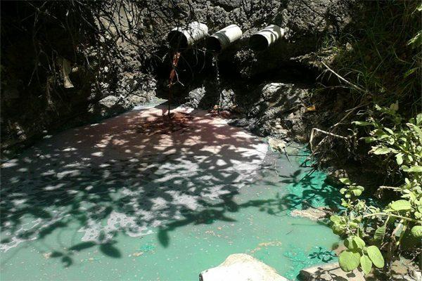 Amozoc contamina por falta de planta tratadora de aguas negras