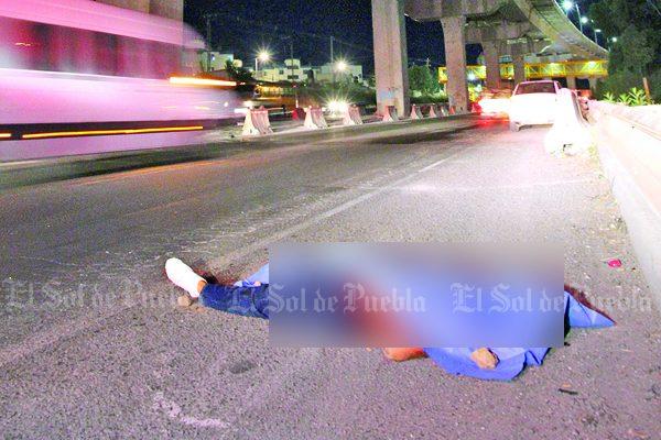 Fallece arrollado en la autopista México-Puebla