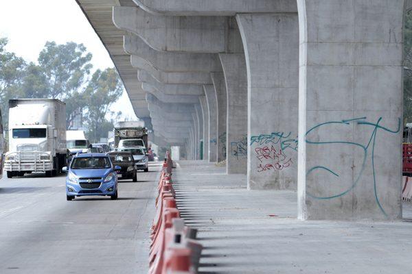 Gastarán 100 mdp en obras complementarias del segundo piso de la autopista