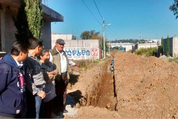 Agua de Puebla quiere dejar seco a Cuautlancingo: colonos
