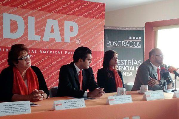 Dos de cada 100 mexicanos estudia un posgrado: UDLAP