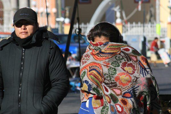 Termómetro en Puebla podría marcar hasta cero grados centígrados