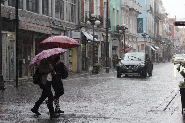 Actividad eléctrica y granizo advierten para el estado de Puebla