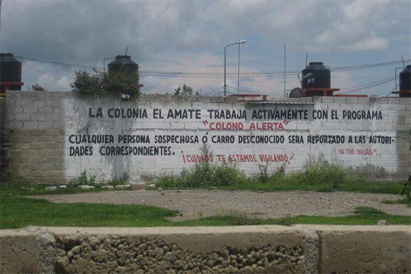 Ayuntamiento de Izúcar desatiende seguridad en Fraccionamiento El Amate