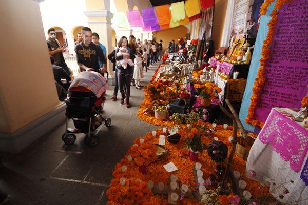 Día de Muertos en Puebla, aromas y colores que atrapan a turistas