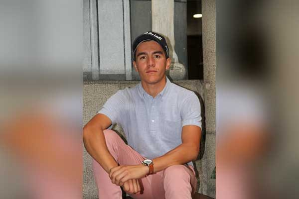 El poblano Max Acevedo, golfista con futuro