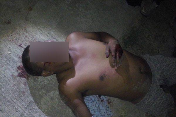 Casi matan a presunto ratero en Fraccionamiento El Amate en Izúcar