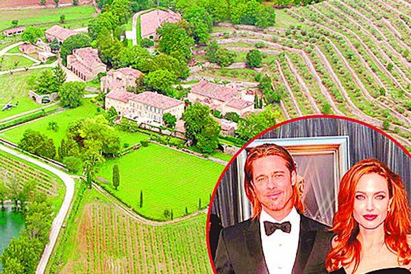 Angelina Jolie y Brad Pitt ponen a la venta su mansión en Francia