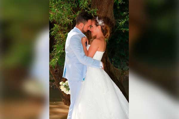 Andrés Felipe y Jessica unen sus vidas