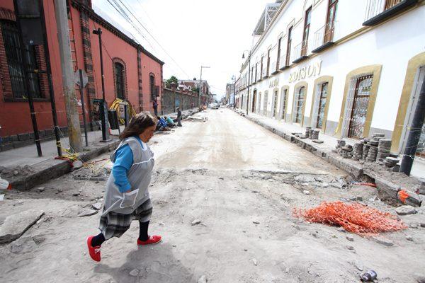 Al 25 por ciento obras de pavimentación en 9 Sur-Norte