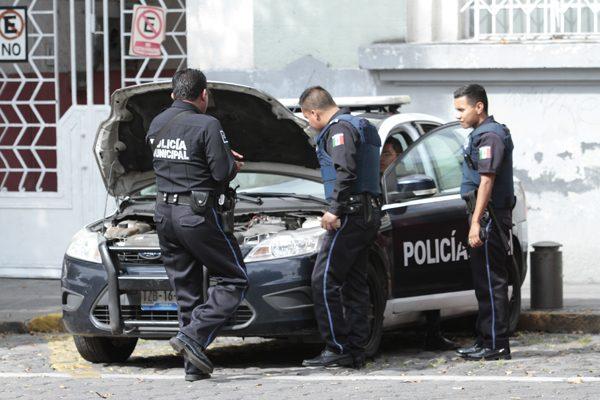 Activos 297 uniformados en Puebla pese a no contar con pruebas de confianza