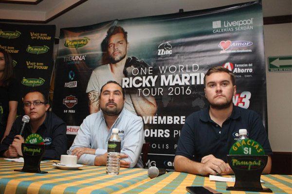Ricky Martin regresará a Puebla en el marco de su One World Tour 2016