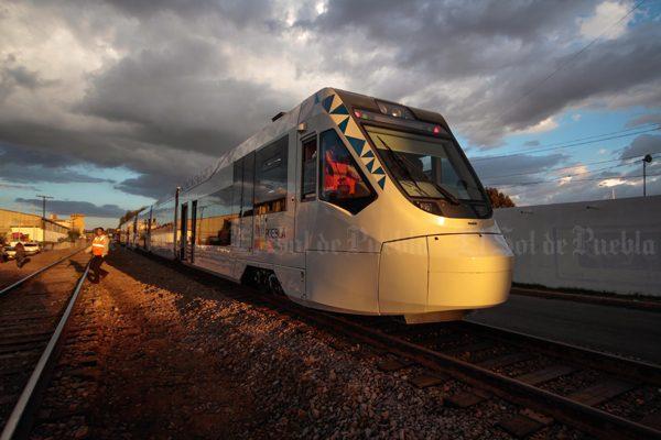 Inician las pruebas del Tren Turístico Puebla – Cholula