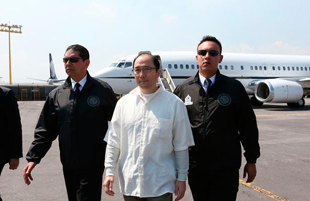 Estados Unidos entrega a Zhenli Ye Gon a autoridades mexicanas
