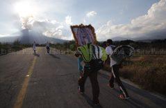 Popocatépetl, atestigua el paso de peregrinos