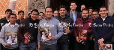 Seminaristas visitan El Sol de Puebla