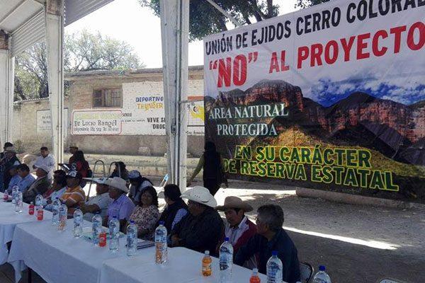 Se oponenejidatarios a que 37 has de Cerro Colorado sean declaradas reserva natural