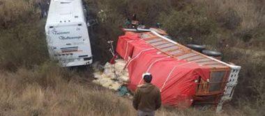 Un muerto y 20 peregrinos lesionados, saldo de accidente carretero