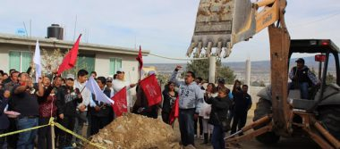 Comuna y Antorcha Campesina inauguran obra en Amozoc