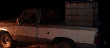 Aseguran camionetas con combustible robado en Tlahuapan