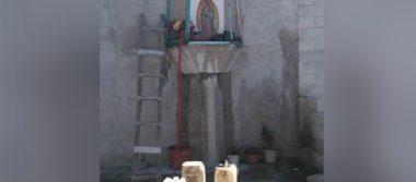 """Chupaductos """"cobijan"""" toma con el manto de la Virgen de Guadalupe"""