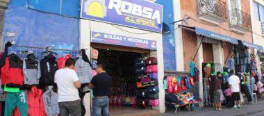 Amaga comercio formal con amparos por corredor ambulante
