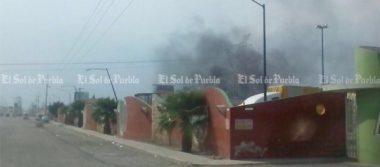 Incendio en Huixcolotla enciende alarmas de cuerpos de emergencia