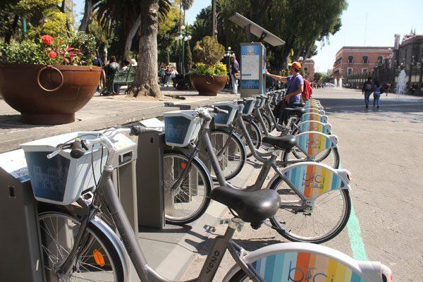 Disminuirá Cycloshare temporalmente la tarifa de bicicletas públicas en Puebla