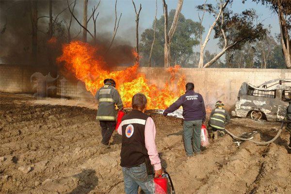 Explota toma clandestina en Chachapa, Puebla