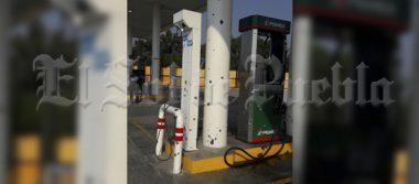 Balean la gasolinera del hermano del alcalde de Palmar de Bravo
