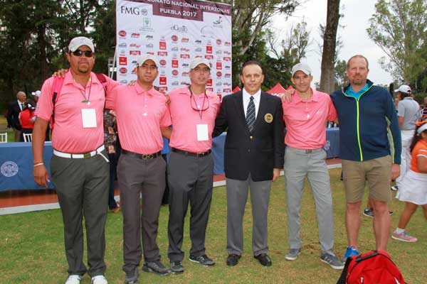 Magno Torneo de Golf en el Club Campestre de Puebla